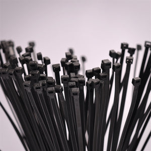 8 Inch Cable Tie - 1000 Pack - Black