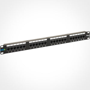 ICC ICMPP02460 24 Port Cat6 Patch Panel, 1 RMS