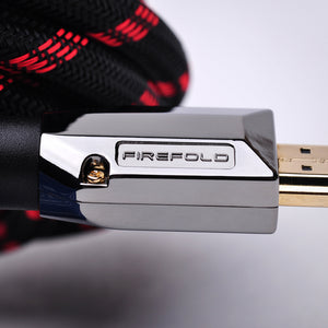 FireFold 3ft 26AWG Platinum High Speed HDMI Cable with Ethernet