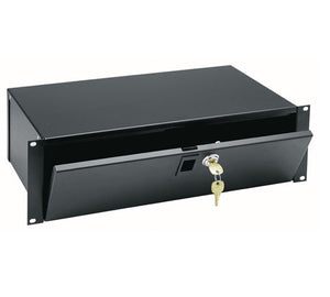 Middle Atlantic LBX-3, 3 Space Lockbox, 9 Inch Depth