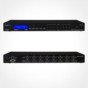 PureLink UX-8800 8x8 4K HDMI Matrix Switcher with HDCP 2.2