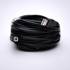 30ft USB Cable Extension for Printer - USB A Male to USB B Male with Repeater