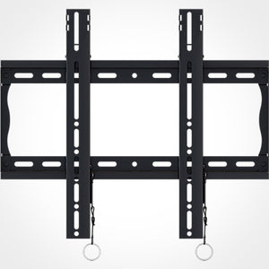 Crimson-AV Universal Flat Wall Mount with Leveling for 26 to 46 Inch Flat Panel Screens Front View