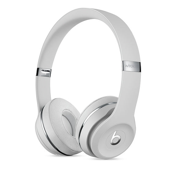 Beats Solo3 Wireless On-Ear Headphones Satin Silver- Clearance