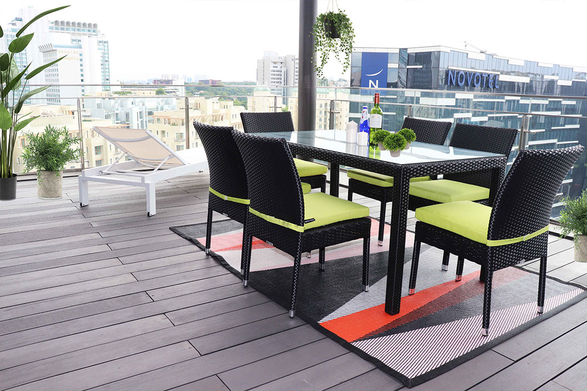 Home Staging rooftop patio