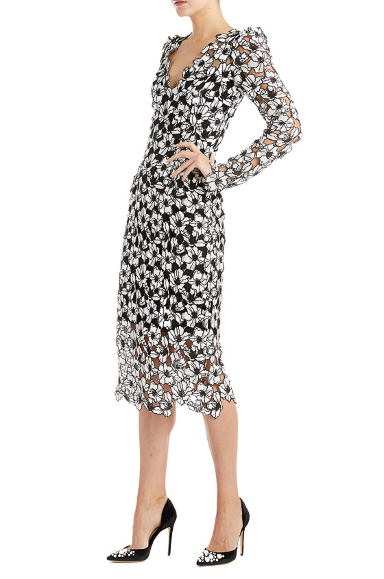 Fall 2019 Lace Midi Dress