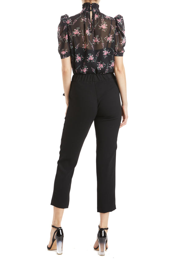 Tapered Pant with Bow