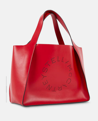 Logo Tote - Red