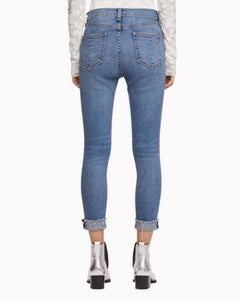 High Rise Ankle Skinny - Levee
