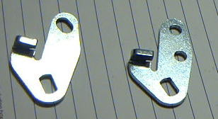 1963-1966 Linkage arms, Passenger side