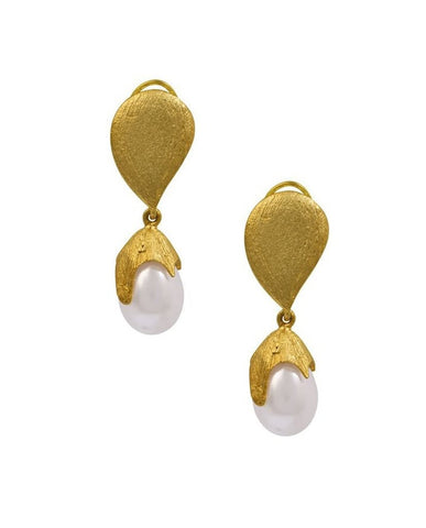 Catherine Pearl Drop Earrings