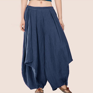 Pure Color Loose Casual Loose Haren Pants