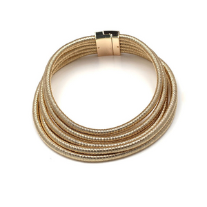 Layers Minimalist Metal Choker Necklace