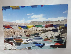 Prayer Flags Ladakh Greeting Cards