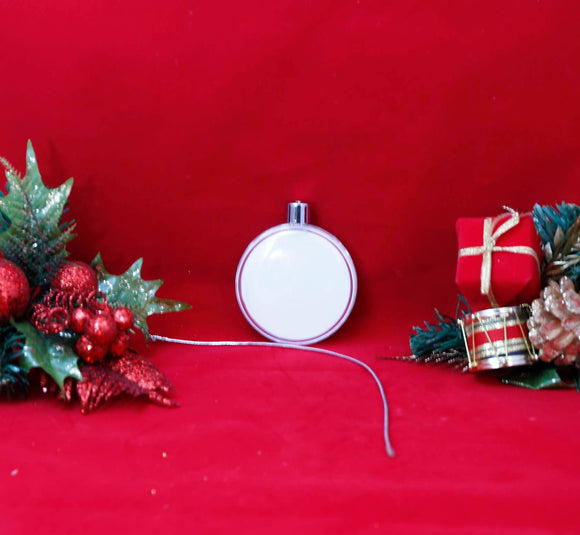 Round Plastic Ornament - Lucky Dog Custom Creations