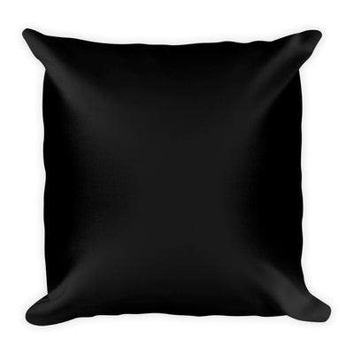 """Salsa Queen"" Square Pillow (Black)"