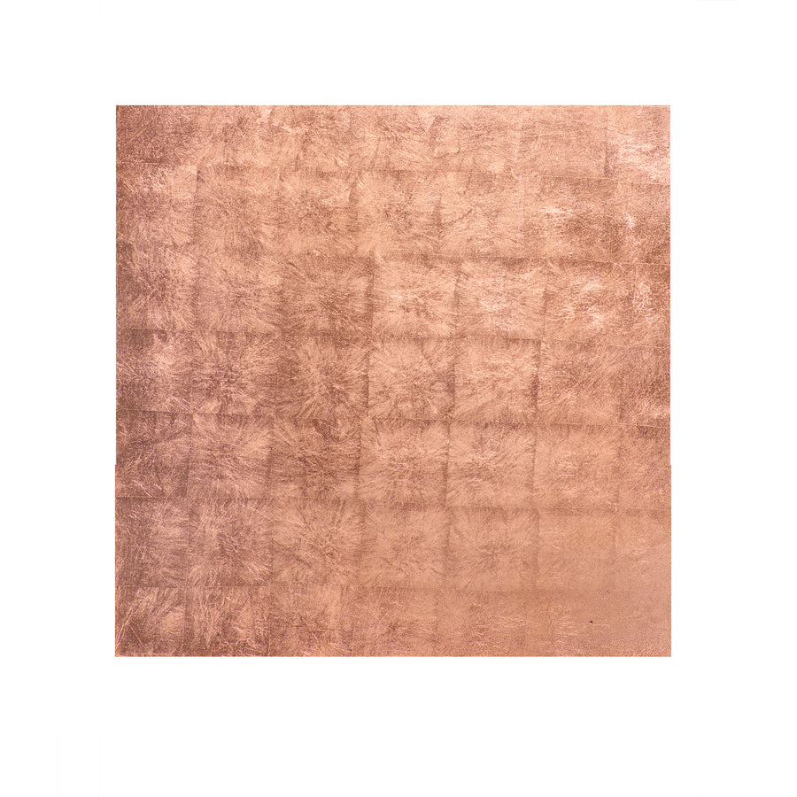POSH TRADING COMPANY PLACEMAT SILVER LEAF IN ROSE GOLD