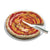 Mepra Round glass plate for Pizza with Knife Milleusi