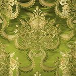 Old World Weavers Reale Nastri Pear Gold Fabric