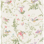 Cole & Son Hummingbirds Soft Multi-Colour Wallpaper