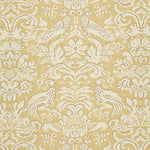Schumacher Aldwyn Damask Buttercup Fabric