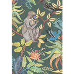 Cole & Son Savuti Dark Petrol Multi Wallpaper