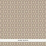 Schumacher Temple Berber Brown Wallpaper