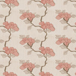 Fabricut Asian Floral Lacquer Fabric