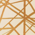 Groundworks Channels Paper Copper/Beige Wallpaper