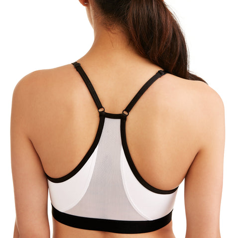 Women's Core Active Cami Sports Bra With Mesh Back - unitedstatesgoods