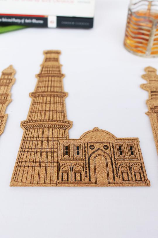 Minar Bookmarks: Set of 3