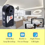 Q7 Wireless 480P Mini WiFi Camera with IR Night Vision and Microphone