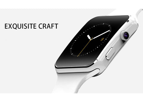 New Arrival Touch Screen X6 Bluetooth Smart Watch with Camera for iPhone and Android Phone