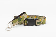 Green Camo Standard Dog Collar