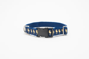Gold Flamingo Standard Collar