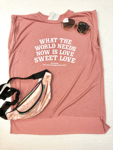Love Quote Tank