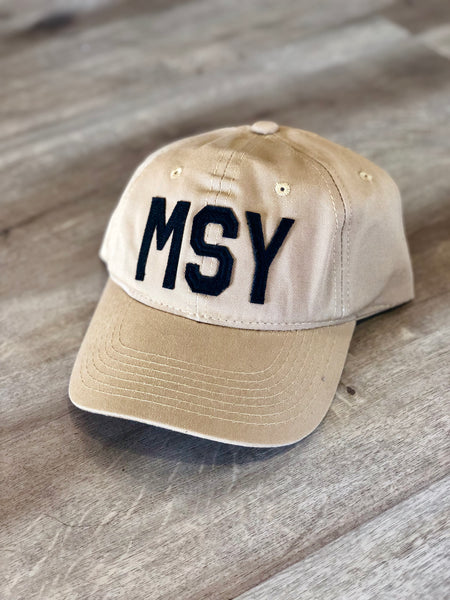 MSY Hat Old Gold