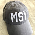 MSY Hat Charcoal