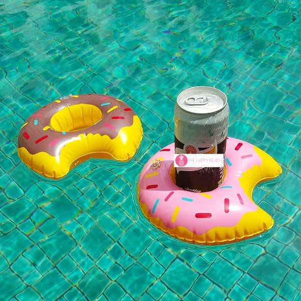 Donut Drink Holders, Pool inflatables - The Happy Beach