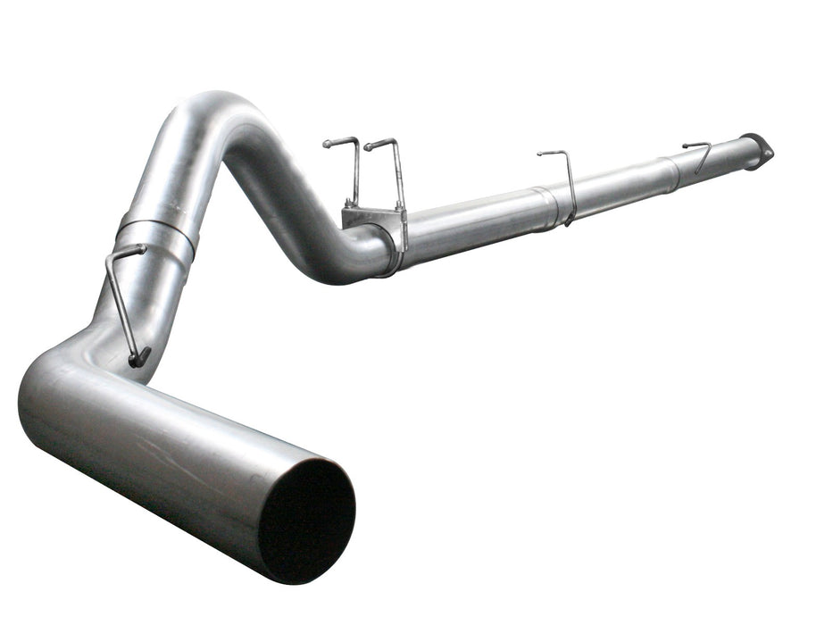 "AFE Power Atlas 4"" Aluminized Down Pipe Back Exhaust System - Northwest Diesel"