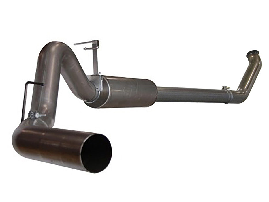 "AFE Power Large Bore-HD 4"" Turbo Back Stainless Steel Exhaust System - Northwest Diesel"