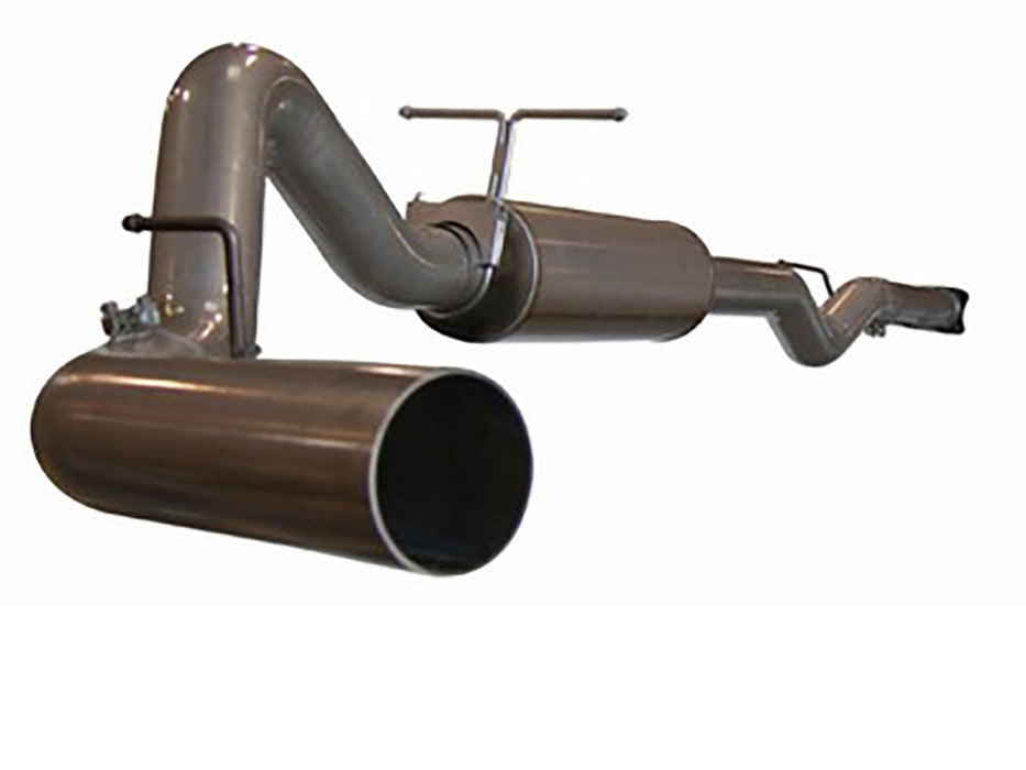 "AFE Power Large Bore-HD 4"" Cat Back Stainless Steel Exhaust System - Northwest Diesel"
