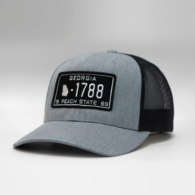 Georgia Vintage License Plate Snapback Baseball Cap