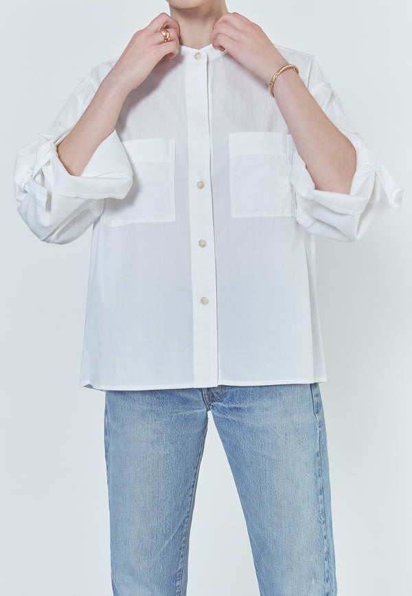 Vince D-Ring Sleeve Utility Shirt