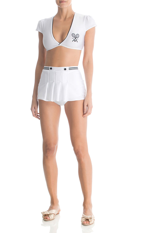 Hot Pants Vintage Cropped Country Club
