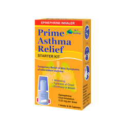 Prime Asthma Relief Kit - Safe & Fast-Acting OTC Inhalation of Epinephrine