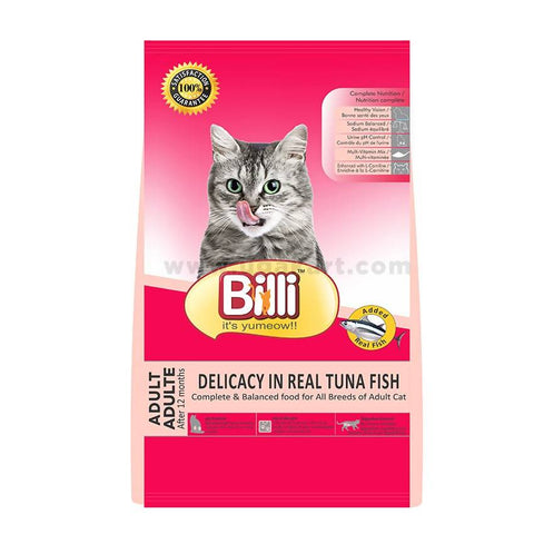 Cat Food Billi-Adult Delicacy In Real Tuna Fish