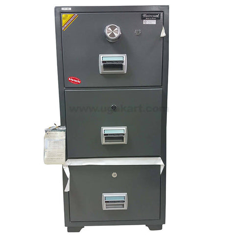 Universal Fire-Resistance-Safe with 3 Drawer-BIF-300-(Dial Lock)