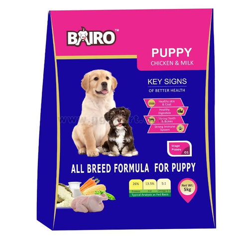 Dog Food Bairo-Puppy Chicken&Milk