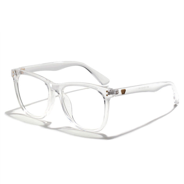 YOOSKE Vintage Anti Blue ray Glasses Frame Women Reading Goggle Blue Light Proof Glasses Computer Transparent Optical Eyewear